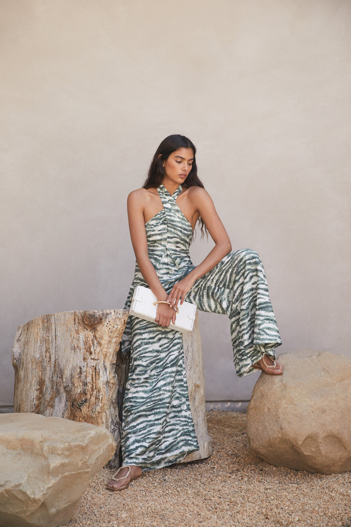 Sandi Jumpsuit - Seaspray Multi