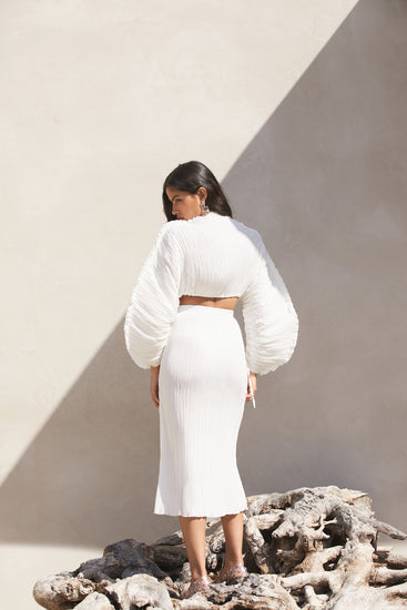 Scarlett Skirt - Off White