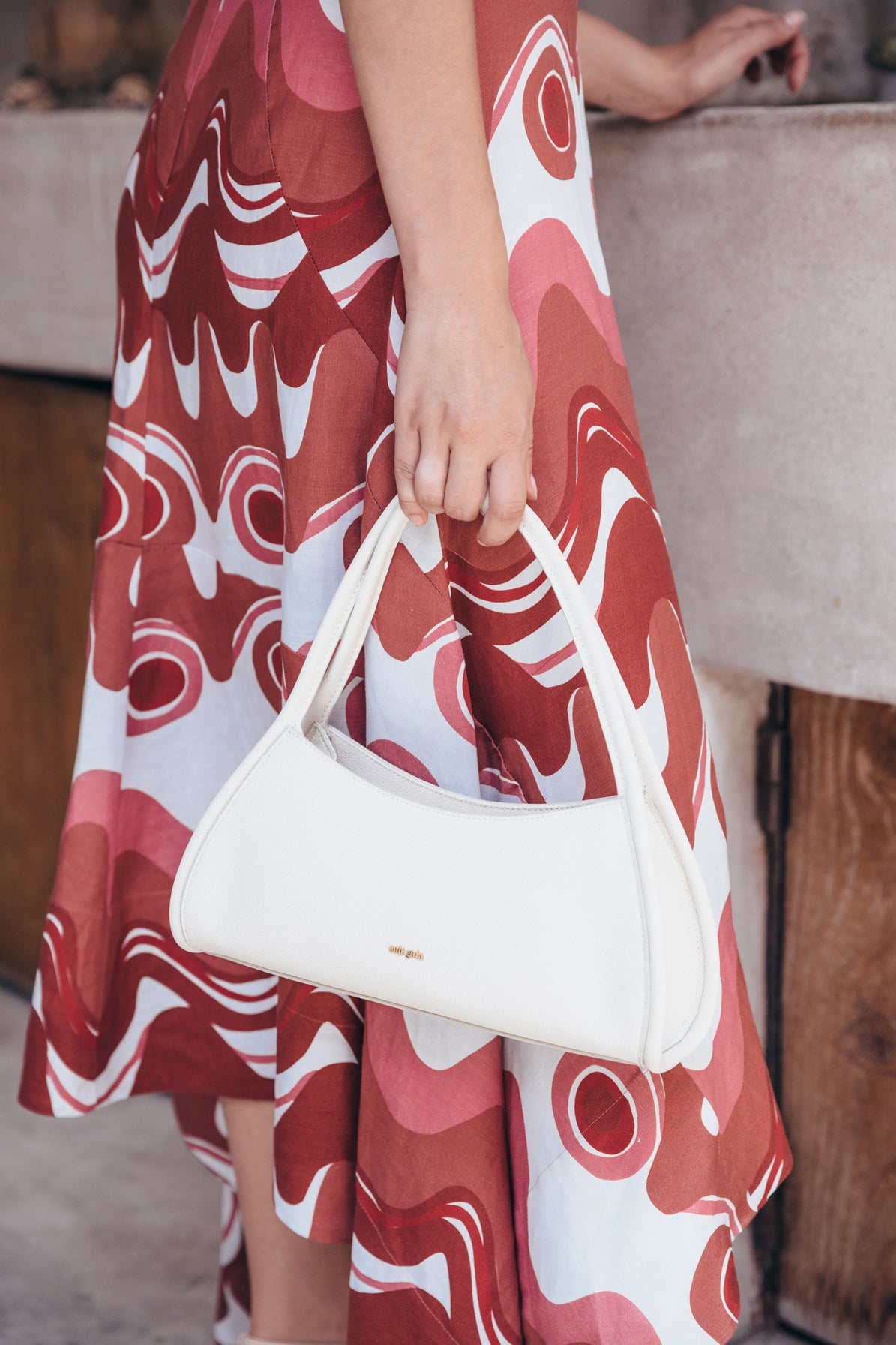 Tala Shoulder Bag - Off White (PREORDER)