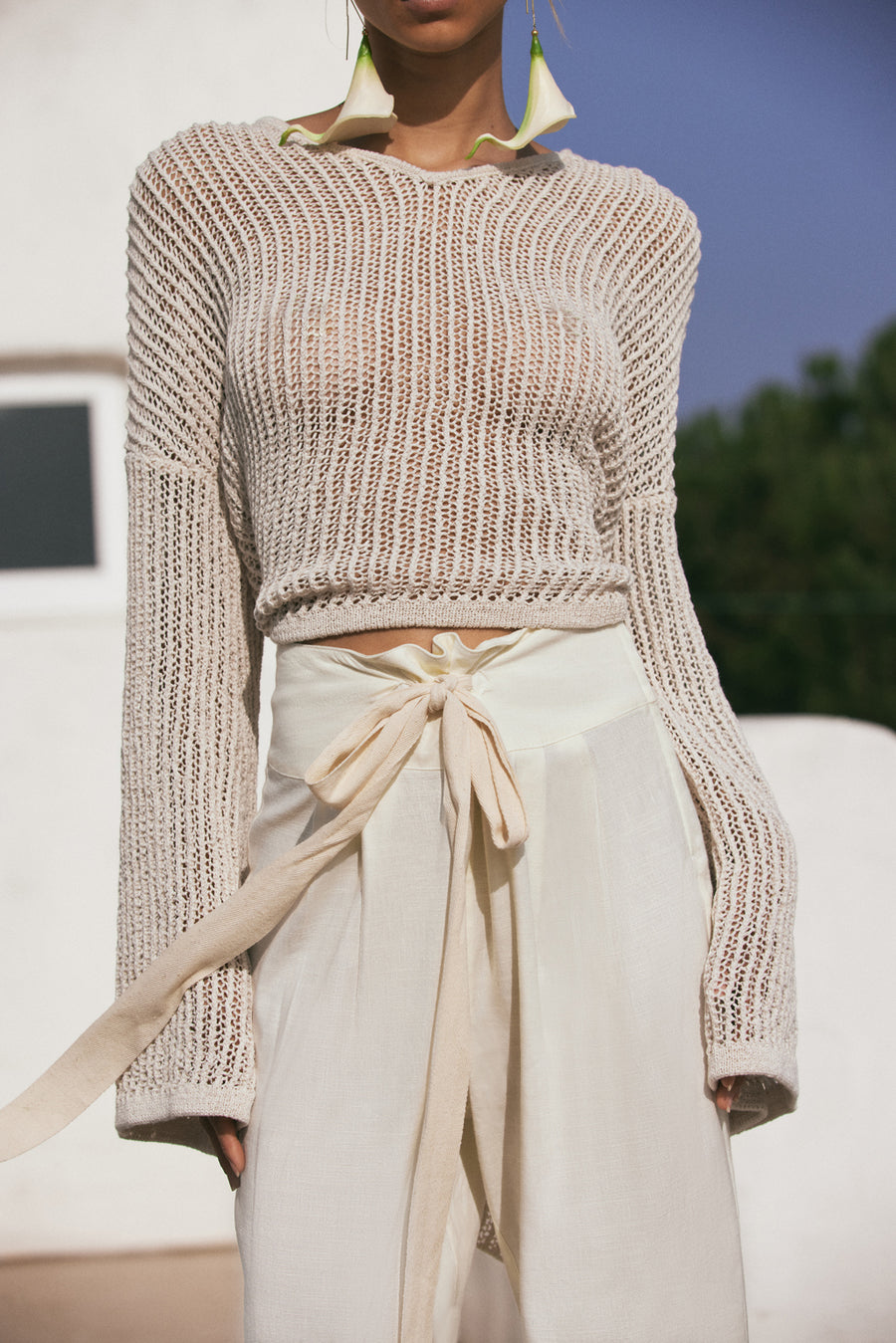 CATHERINE SWEATER - OFF WHITE