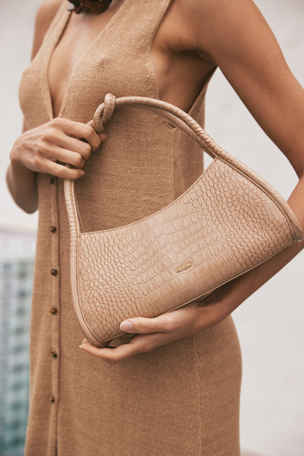 Tala Shoulder Bag - Almond (PREORDER)