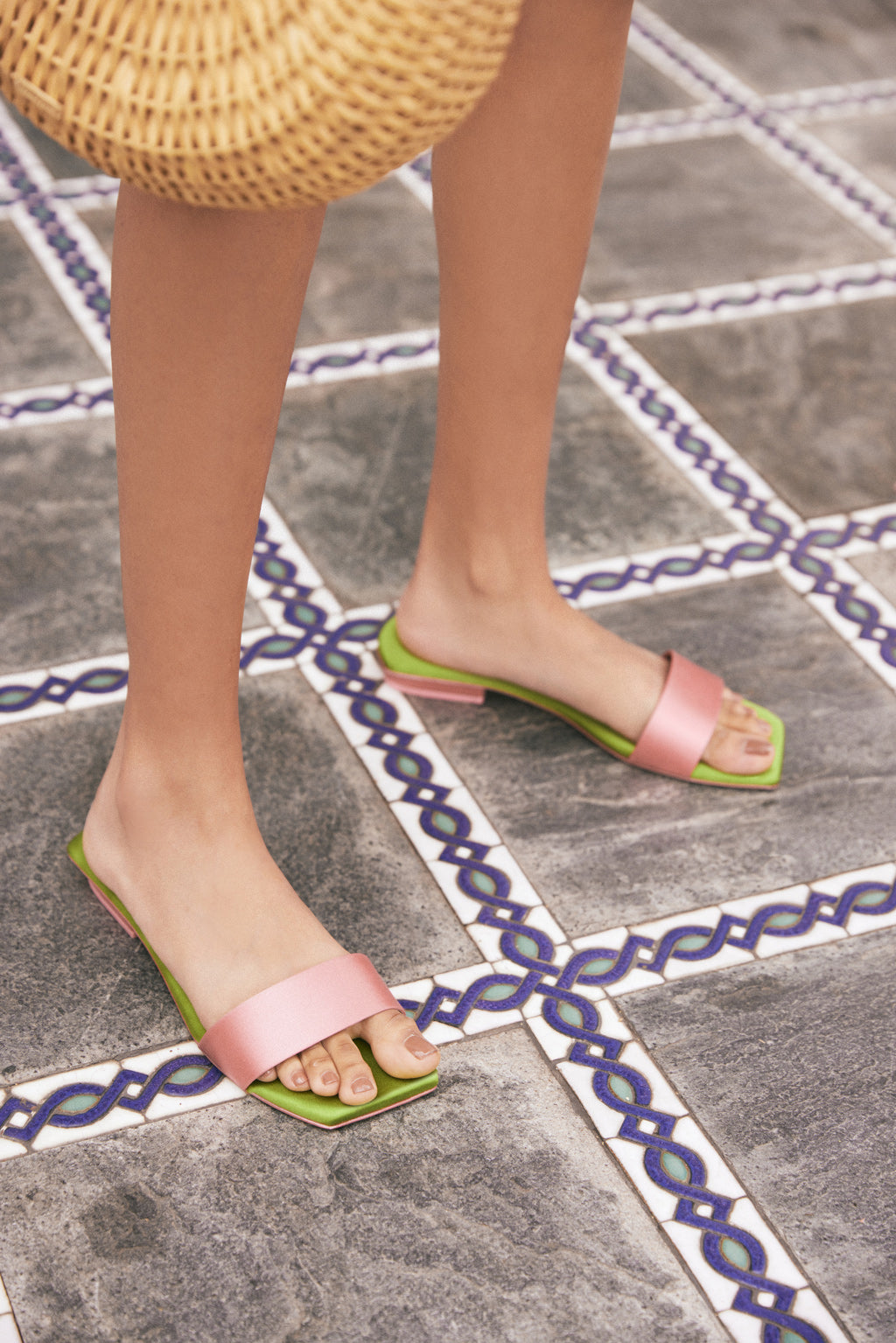 Maya Sandal - Rose Multi