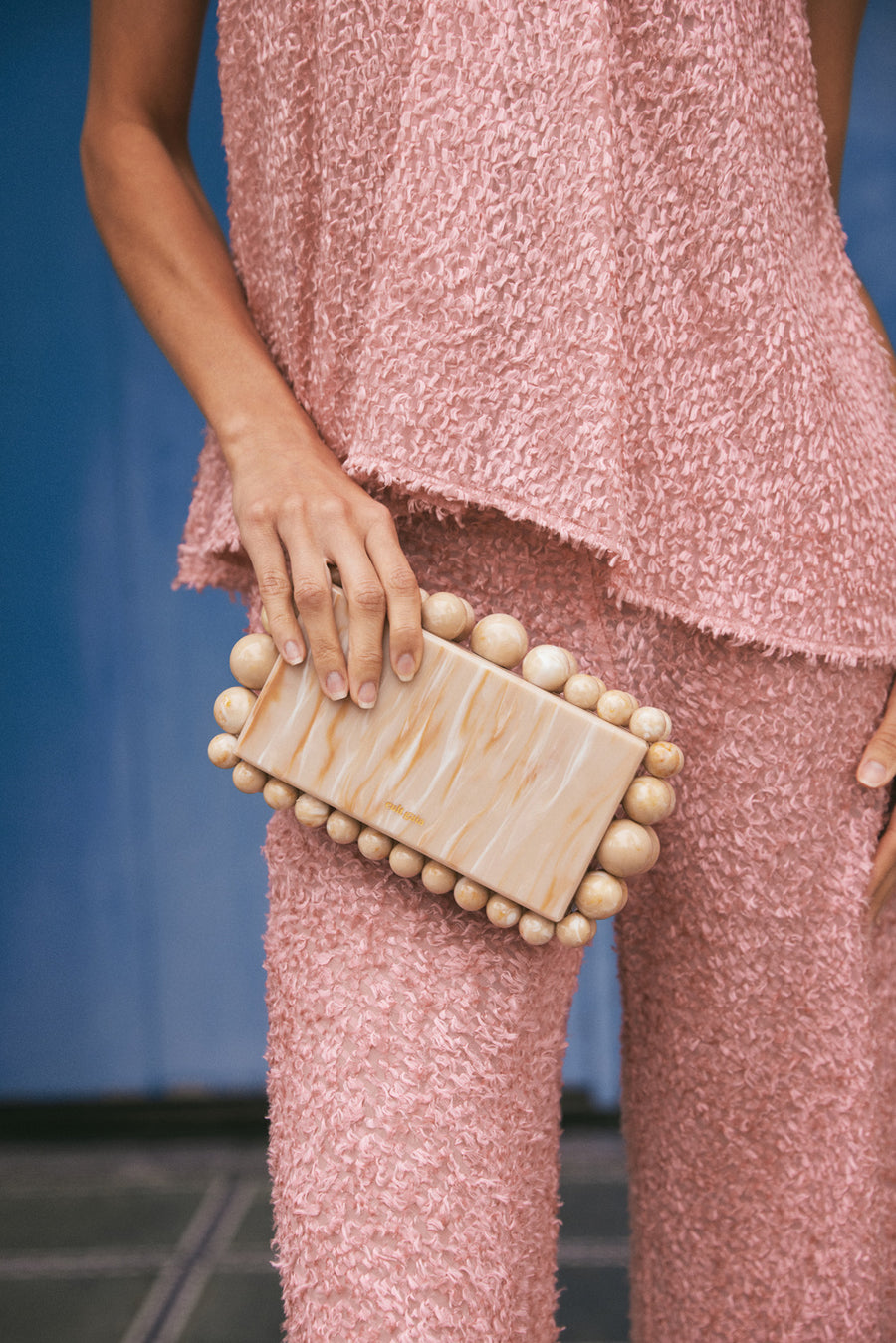 EOS BOX CLUTCH - BUTTERSCOTCH