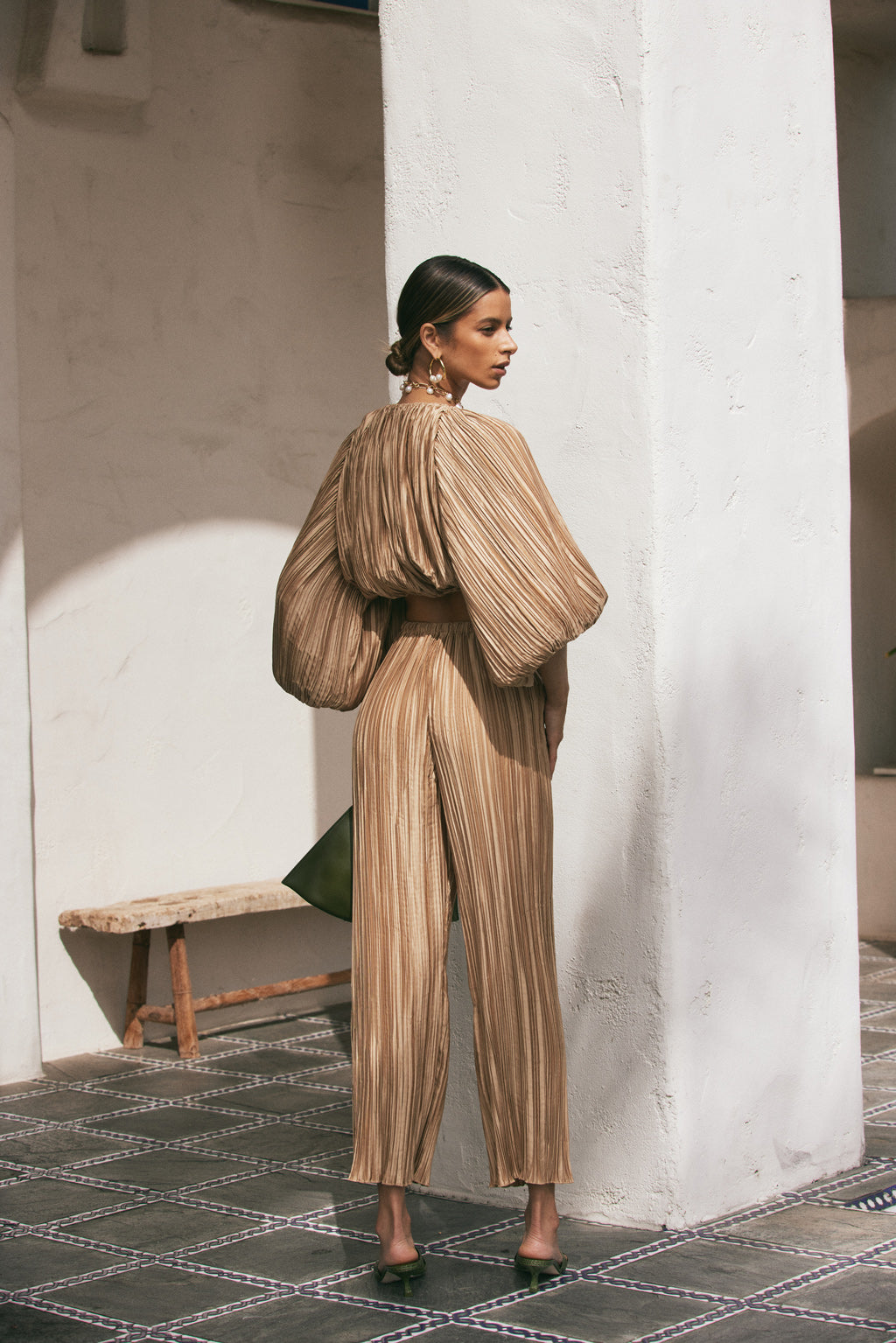 Hanna Top - Light Camel