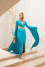 Jasmin Cutout Gown - Teal
