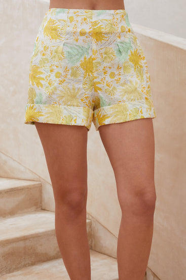 Shadi Short - Lemonade Multi