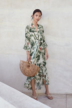 Stacie Dress - Green Multi