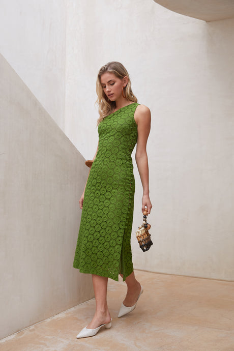 Louise Dress - Leaf