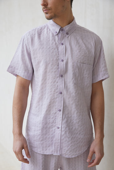 Cameron Button Down - Lavender