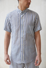 Lev Button Down - Denim Stripe