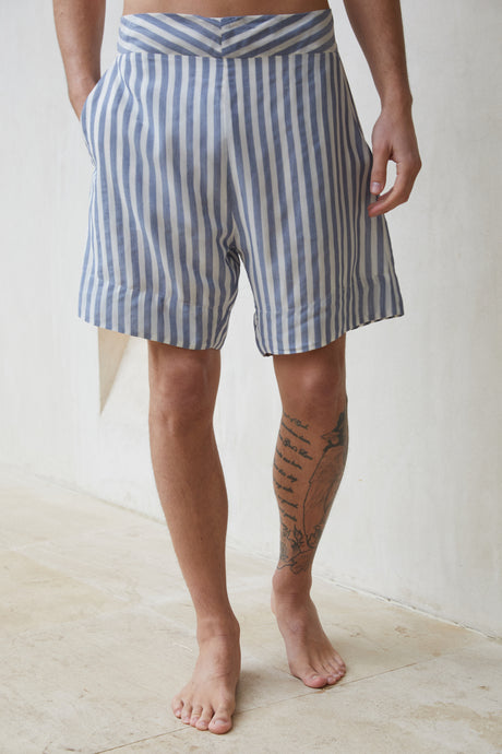 Lev Short - Denim Stripe