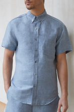 Ryan Button Down - Denim