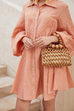 Ilaria Dress - Peach