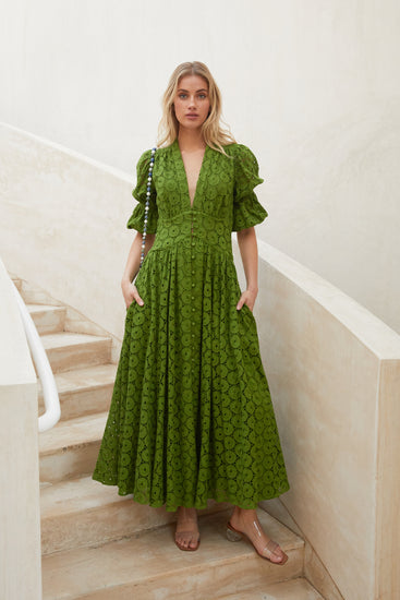 Willow Dress - Leaf