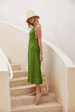Elle Dress - Leaf