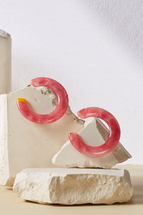 Kennedy Earring - Cherry Quartz
