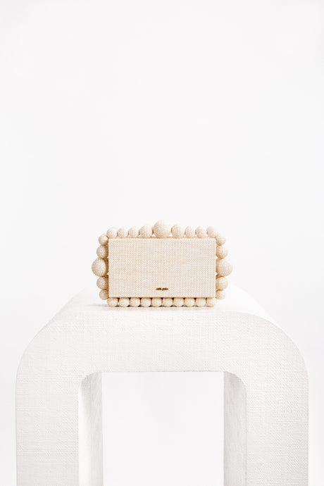 Eos Box Clutch - Sand