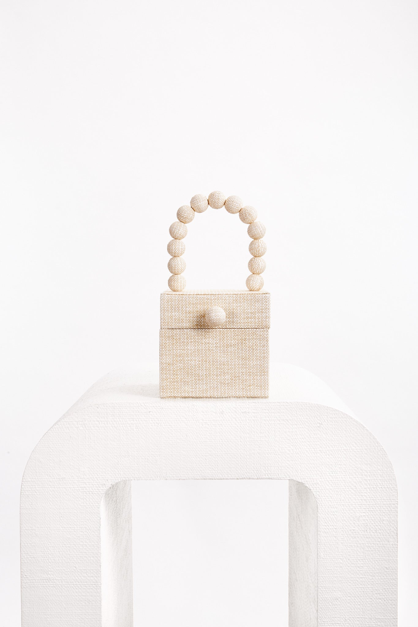 Eos Box Bag - Sand