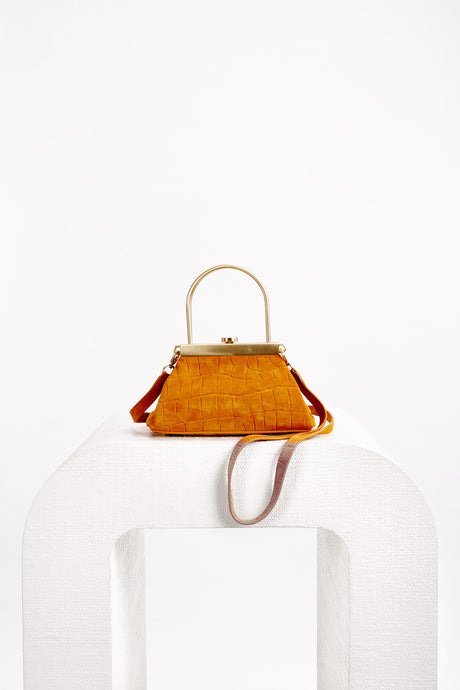 Mini Estelle Crossbody - Saffron