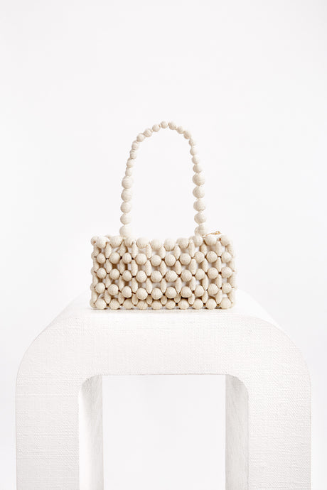 Cora Shoulder Bag - Cream