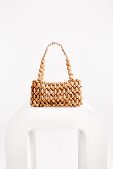 Cora Shoulder Bag - Natural