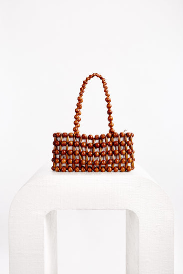 Cora Shoulder Bag - Mahogany