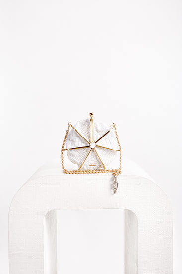 Nika Crossbody - White