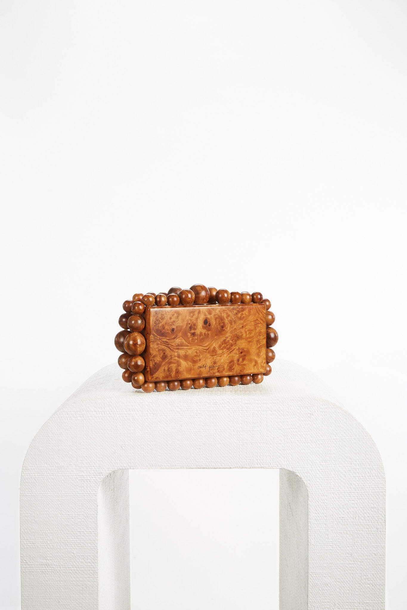 Eos Box Clutch - Chestnut