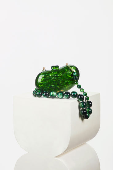 Cult Gaia - Tallulah Bean Shoulder Bag - Malachite