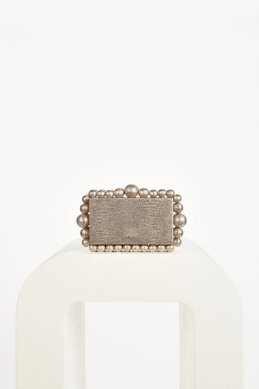 Eos Box Clutch - Metallic Multi