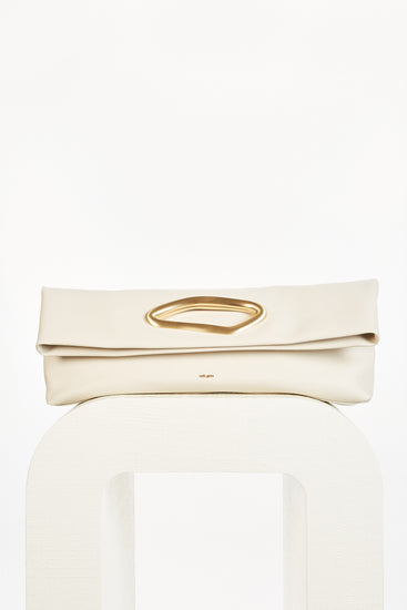 Reza Clutch - Off White (PREORDER)