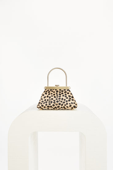 Mini Estelle Crossbody - Camel Multi