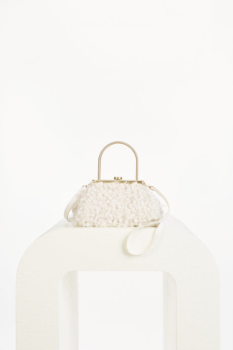 Mini Estelle Crossbody - Off White