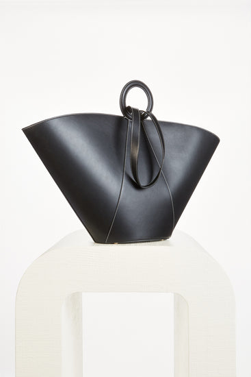 Roksana Large Tote - Black