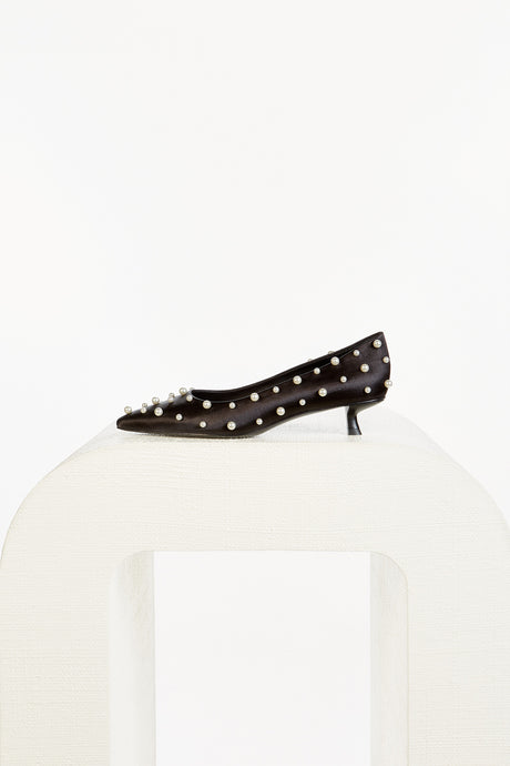 Roxy Pearl Pump - Black