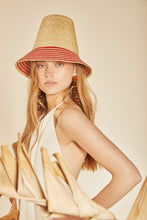 Mia Hat - Natural Stripe