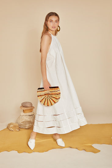 Solene Dress - White