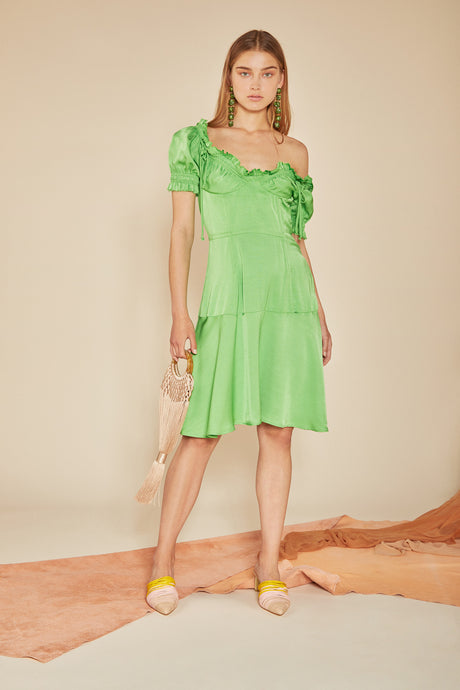 Scarlett Dress - Green