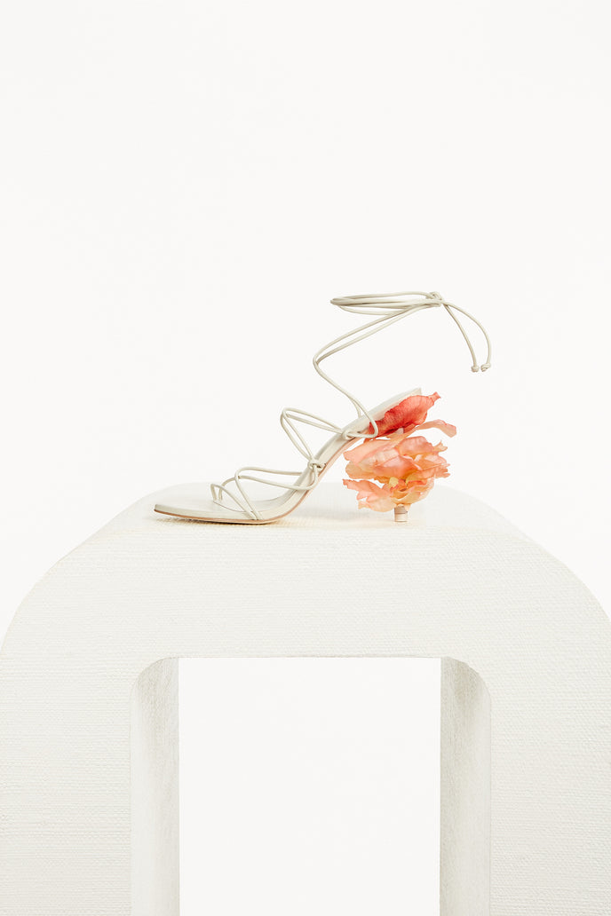 EFFIE SANDAL - OFF WHITE