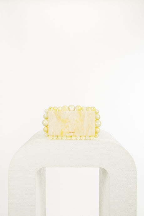 Eos Box Clutch - Yellow Quartz