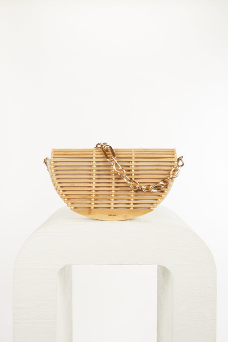 Celine Shoulder Bag - Natural