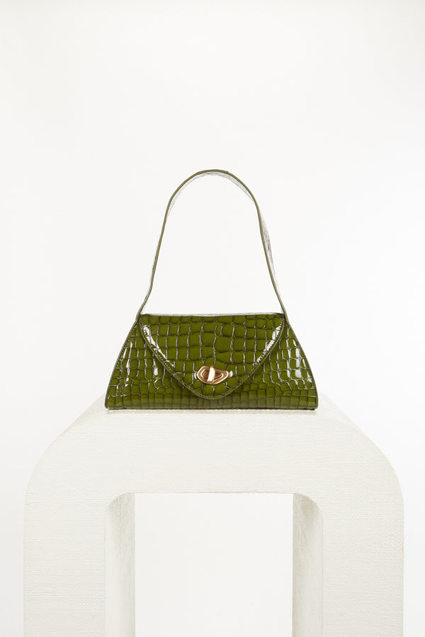 Serena Shoulder Bag - Olive (PREORDER)
