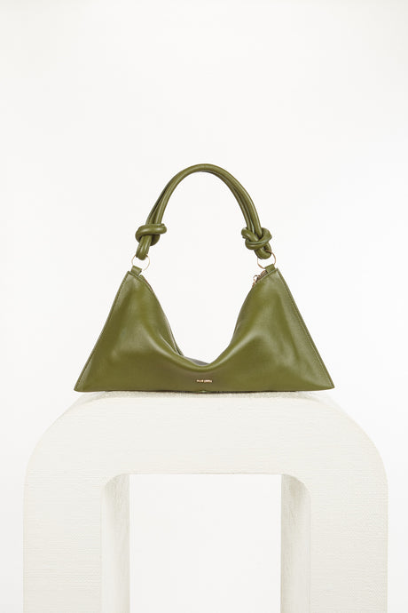 Hera Mini Shoulder Bag - Olive