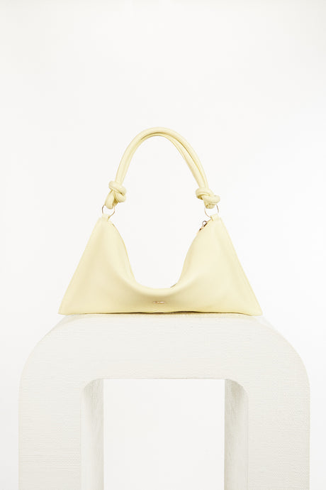 Hera Mini Shoulder Bag - Butter