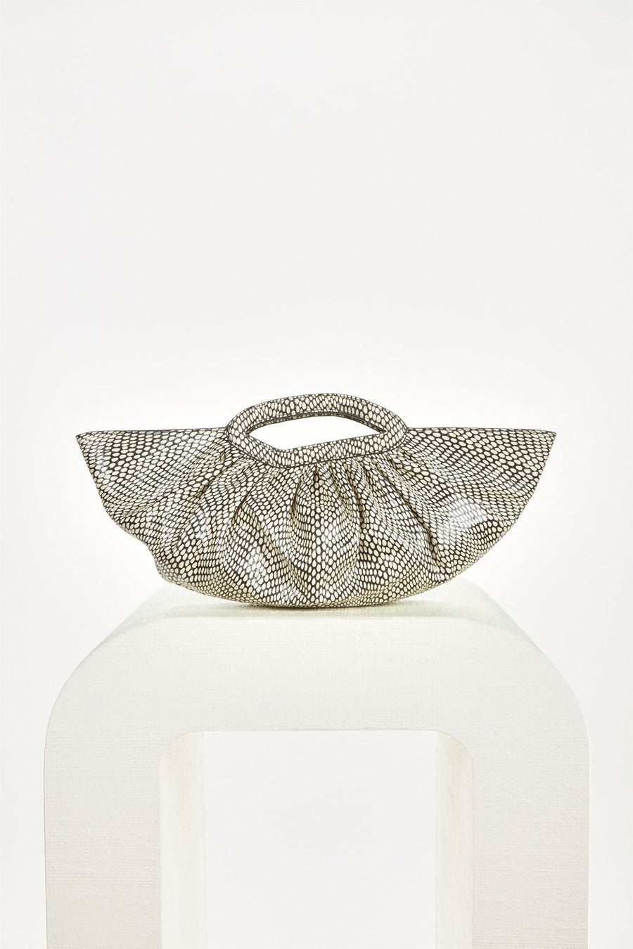 JADA CLUTCH - WHITE MULTI