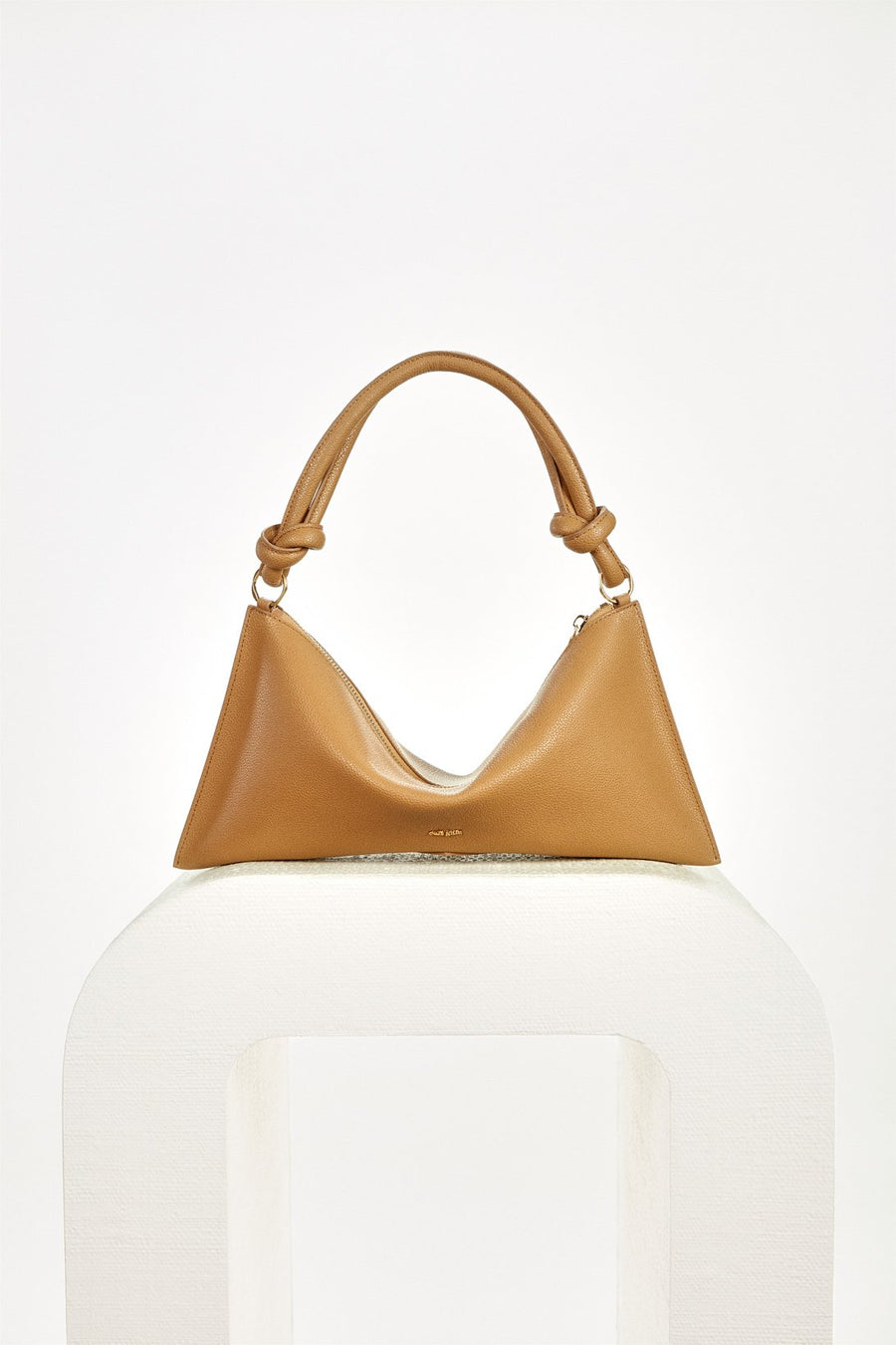 HERA MINI SHOULDER BAG - CAMEL