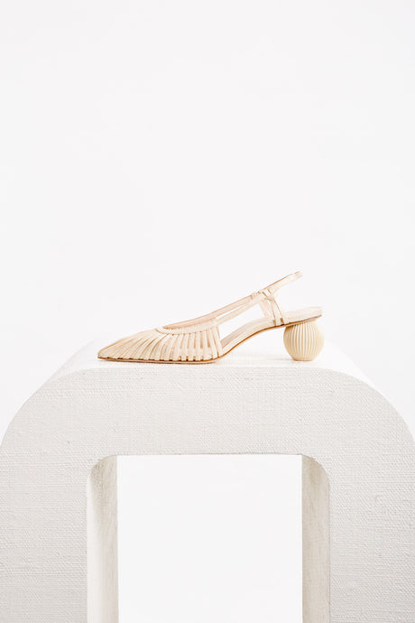 Alia Slingback - Natural
