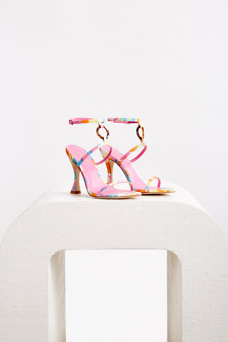 Camille Heel - Hibiscus Multi (EXCLUSIVE)