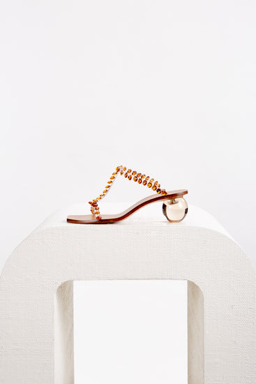 Clio Heel - Clear