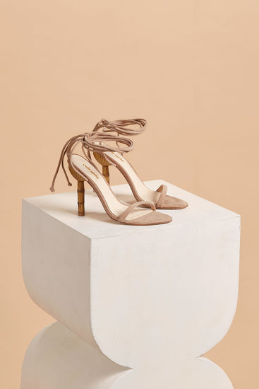 Luna Leather Sandal - Sand